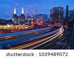 battersea power station rail... | Shutterstock . vector #1039489072