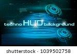 hud technology background ...
