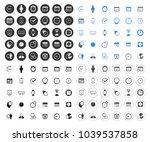 calendar icons set   time  ... | Shutterstock .eps vector #1039537858