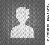 user avatar illustration.... | Shutterstock .eps vector #1039543462