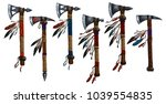 Tomahawk Set Collection Military Weapons - Fine Art prints