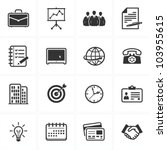 office and business icons | Shutterstock .eps vector #103955615