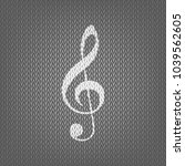 music violin clef sign. g clef. ...   Shutterstock .eps vector #1039562605