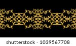 seamless pattern. golden... | Shutterstock . vector #1039567708