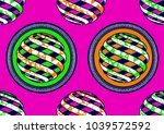 textile fashion african print...   Shutterstock .eps vector #1039572592