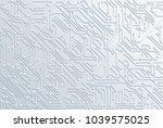 circuit board background...   Shutterstock .eps vector #1039575025
