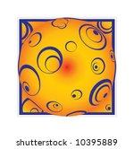 cir les  gazing from the heart... | Shutterstock .eps vector #10395889