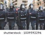 milan  italy   february 24 ... | Shutterstock . vector #1039592296