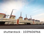 coal fired power plants in the...   Shutterstock . vector #1039606966