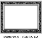 decorative vintage frames and... | Shutterstock .eps vector #1039627165