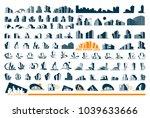 real estate logo set .creative... | Shutterstock .eps vector #1039633666