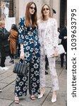 milan  italy   february 22 ... | Shutterstock . vector #1039633795