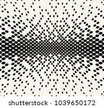 geometric halftone pattern... | Shutterstock .eps vector #1039650172