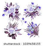 watercolor illustration. ... | Shutterstock . vector #1039658155