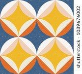 modern vector abstract seamless ... | Shutterstock .eps vector #1039676002