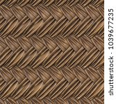 Brown Leather Texture Of Rattan ...