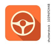 icon of orange color with a... | Shutterstock .eps vector #1039692448