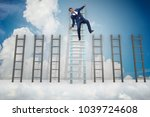 employee being fired and...   Shutterstock . vector #1039724608