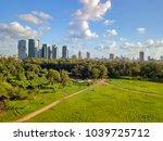 tel aviv  cityscape  hayarkon... | Shutterstock . vector #1039725712