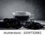 ayurvedic herb liquorice root... | Shutterstock . vector #1039732882