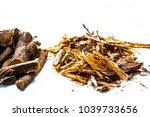 close up of ayurvedic herb... | Shutterstock . vector #1039733656