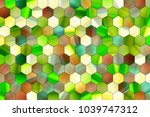 abstract colorful pattern... | Shutterstock . vector #1039747312