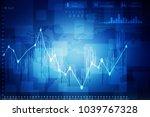 2d rendering stock market... | Shutterstock . vector #1039767328