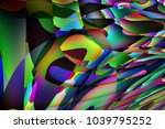 colorful abstract background... | Shutterstock . vector #1039795252