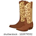 vector illustration of a pair... | Shutterstock .eps vector #103979552