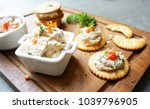 Tuna Spread On Crackers And In...