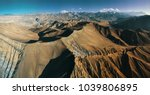 the upper mustang trek brings... | Shutterstock . vector #1039806895
