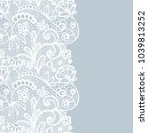 Seamless Lace Border. Vector...