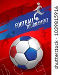 football tournament  soccer ...   Shutterstock .eps vector #1039815916
