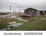 barrow  utqiagvik   alaska  usa ... | Shutterstock . vector #1039820428