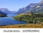 waterton lake  waterton... | Shutterstock . vector #1039820842