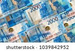 background from new banknotes... | Shutterstock . vector #1039842952
