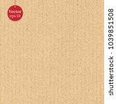 seamless cardboard background... | Shutterstock .eps vector #1039851508