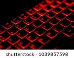 diagonally english language... | Shutterstock . vector #1039857598