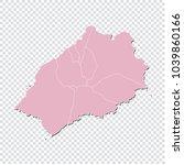 st helena map   high detailed... | Shutterstock .eps vector #1039860166