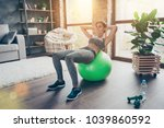 pretty beautiful powerful... | Shutterstock . vector #1039860592