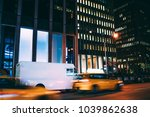 truck of logistic shipping... | Shutterstock . vector #1039862638