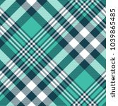 Plaid Check Pattern In Myrtle...