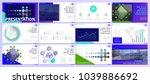 multifunctional blue  green... | Shutterstock .eps vector #1039886692