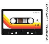 Vintage Cassette Illustration ...