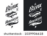 american muscle car black and...   Shutterstock .eps vector #1039906618