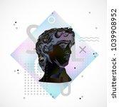 trendy sculpture modern design | Shutterstock .eps vector #1039908952