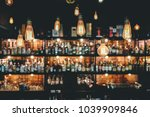 old vintage lighting decorate... | Shutterstock . vector #1039909846
