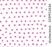 abstract handdrawn seamless... | Shutterstock .eps vector #1039912636