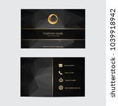 geometric background business... | Shutterstock .eps vector #1039918942