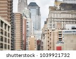 view of old and modern... | Shutterstock . vector #1039921732